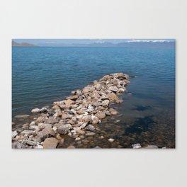 Salt Lake Scenery III Canvas Print