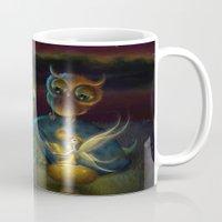 fairy tale Mugs featuring Fairy Tale by Alicia Templin