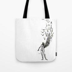Winged  Tote Bag