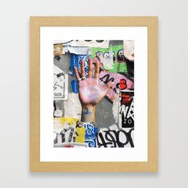 NYC Background 1 Framed Art Print