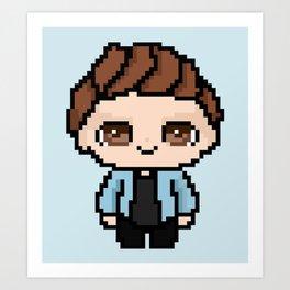 Pixel Liam Payne (One Direction) Art Print