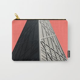 Hancock in Living Coral Carry-All Pouch