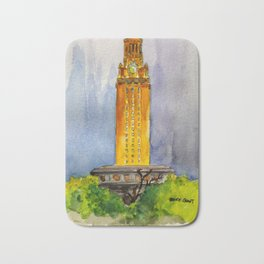 UT Tower - Shines to welcome new students to campus Bath Mat