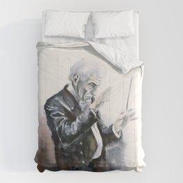 Leonard Bernstein Portrait Comforters
