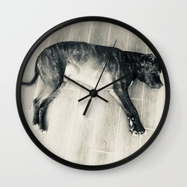 Lounging Afternoon Wall Clock