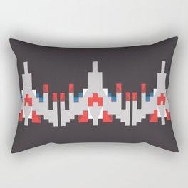 Holy Galaga Rectangular Pillow