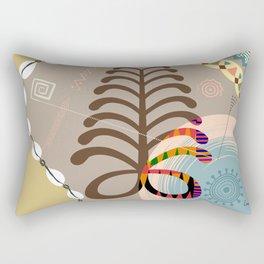 Adinkra Aya Rectangular Pillow