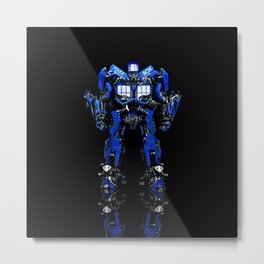 Tardis Transform Metal Print