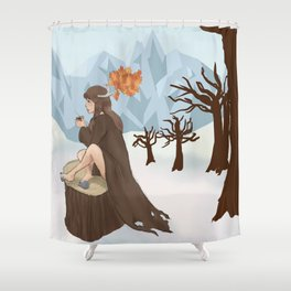 Caribou Coffee  Shower Curtain