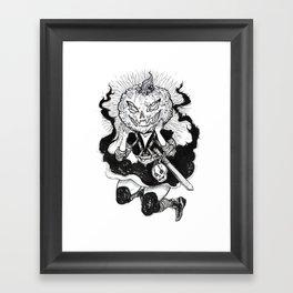 Inktober 001 Framed Art Print