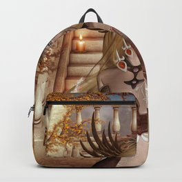 Wonderful fairy with headdress Backpack