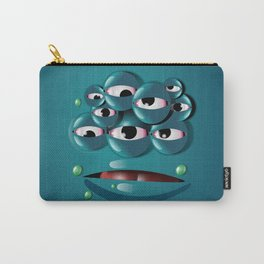 Blue Monster Carry-All Pouch