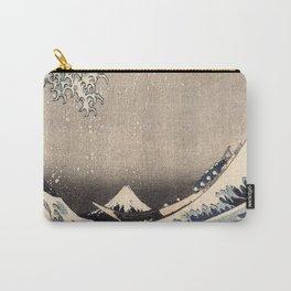 Hokusai the wave 1-hokusai,manga,fugi,japan,kanagawa,wave,edo,mount fuji Carry-All Pouch