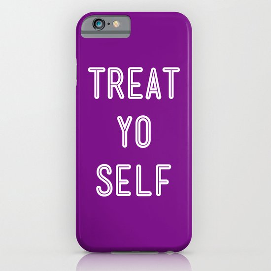 Treat Yo Self Purple - Parks and Recreation iPhone & iPod Case