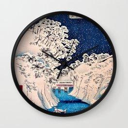 Utagawa Hiroshige - Famous Views of Edo - Ochanomizu Wall Clock