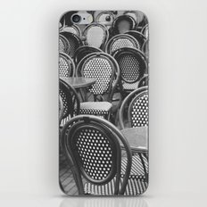 Chairs Under The Rain iPhone & iPod Skin