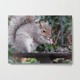 You hold it like this, see? Metal Print