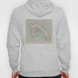 Vintage Map of Provincetown MA (1892) Hoody
