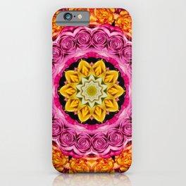4 Color Rose iPhone Case