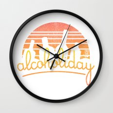 Alcoholiday Wall Clock