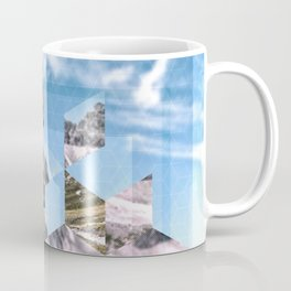 Mountain Fragments Coffee Mug