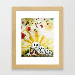 Camp Mellowfire Framed Art Print