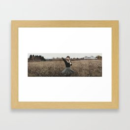 discomforting reminders of what was Framed Art Print