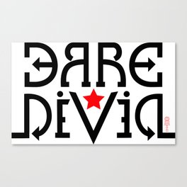 """Dare Devil"" Canvas Print"