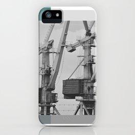 Working giraffe iPhone Case