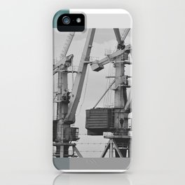Working giraffe iPhone Case