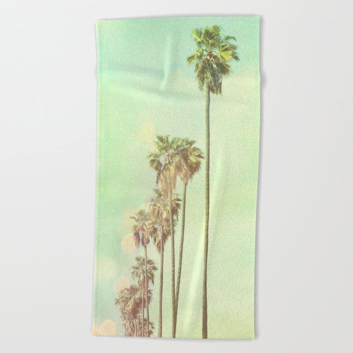 Los Angeles. La La Land photograph Beach Towel
