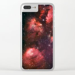 The Cat's Paw Nebula Clear iPhone Case