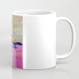 Fisherman and Magic Apes Coffee Mug