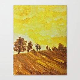 Warmest of Autumns Canvas Print