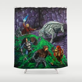 The Gorgon Shower Curtain