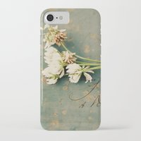 clover iPhone & iPod Cases featuring clover by Beverly LeFevre