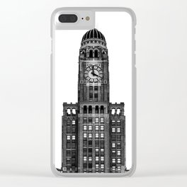 The Williamsburgh Savings Bank Tower Clear iPhone Case
