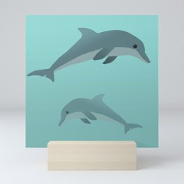 Dolphins Mini Art Print