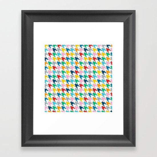 Puppytooth Framed Art Print