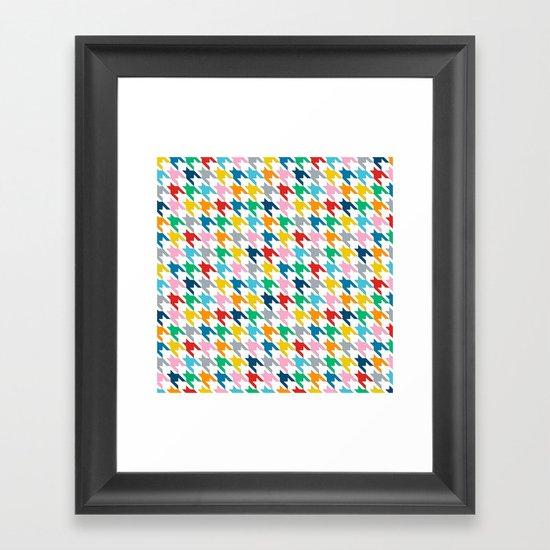 Puppytooth Framed Art Print