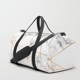 Marble Geometry 054 Duffle Bag