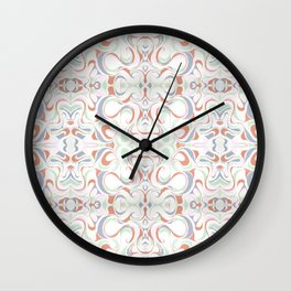 In Earth Tones Wall Clock