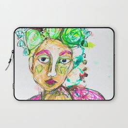 She tried to understand him Laptop Sleeve