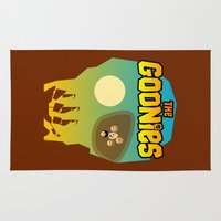 goonies Area & Throw Rugs featuring The Goonies by tuditees