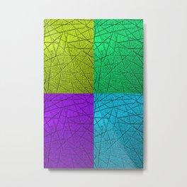 Scratches (Multi-color) Metal Print