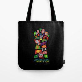 Infinity War Tote Bag