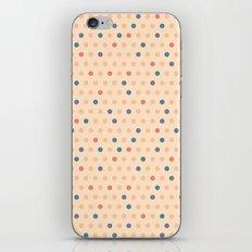 Retro Polka Dot iPhone Skin