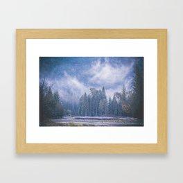 Misty Magic Framed Art Print