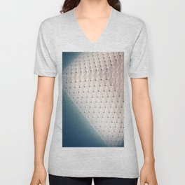 White Glass Unisex V-Neck