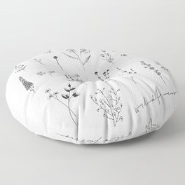 Wildflowers II Floor Pillow